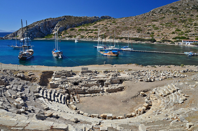 Knidos on the Datca Peninsula