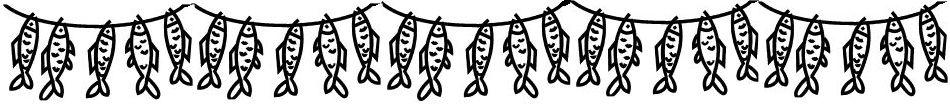 Fishing bunting